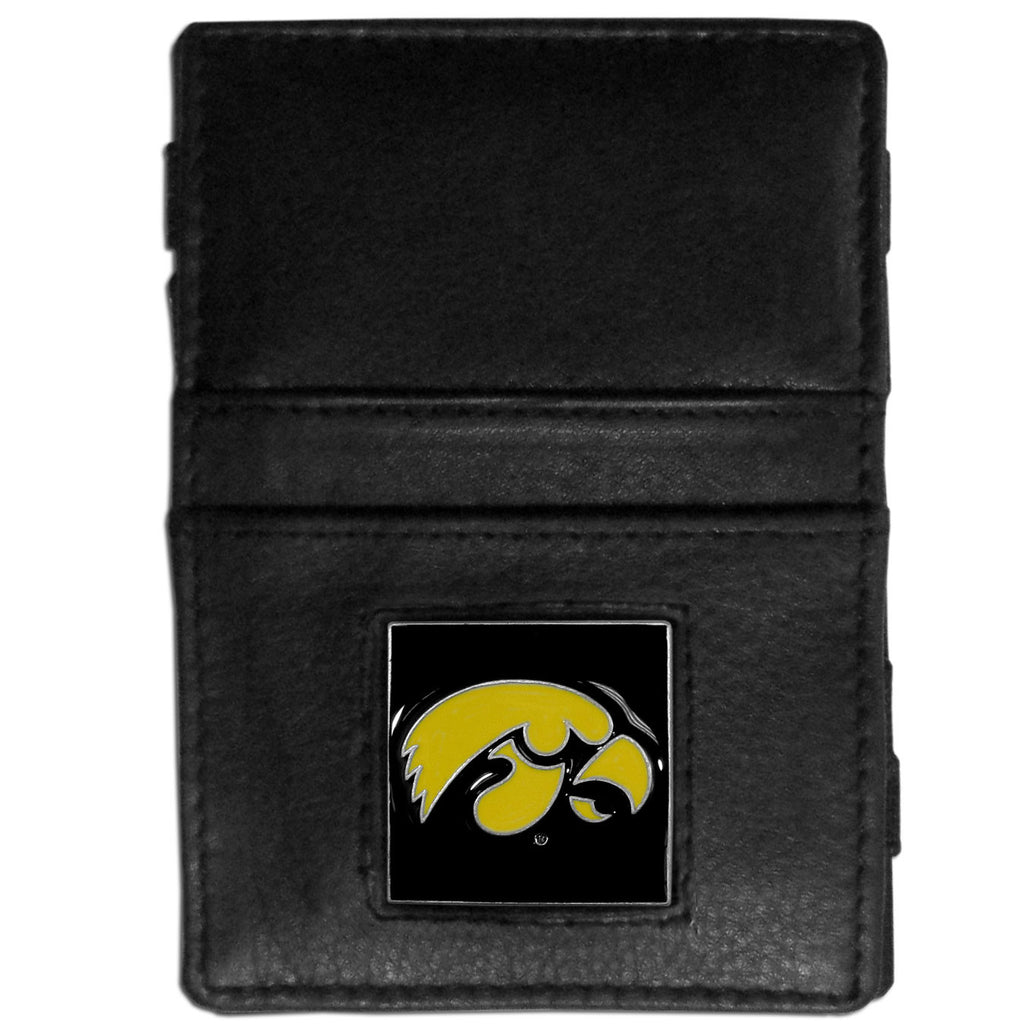 Iowa Hawkeyes Leather Jacob's Ladder Wallet