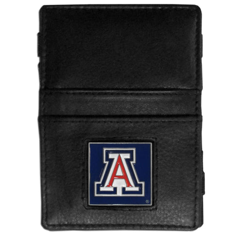 Arizona Wildcats Leather Jacob's Ladder Wallet