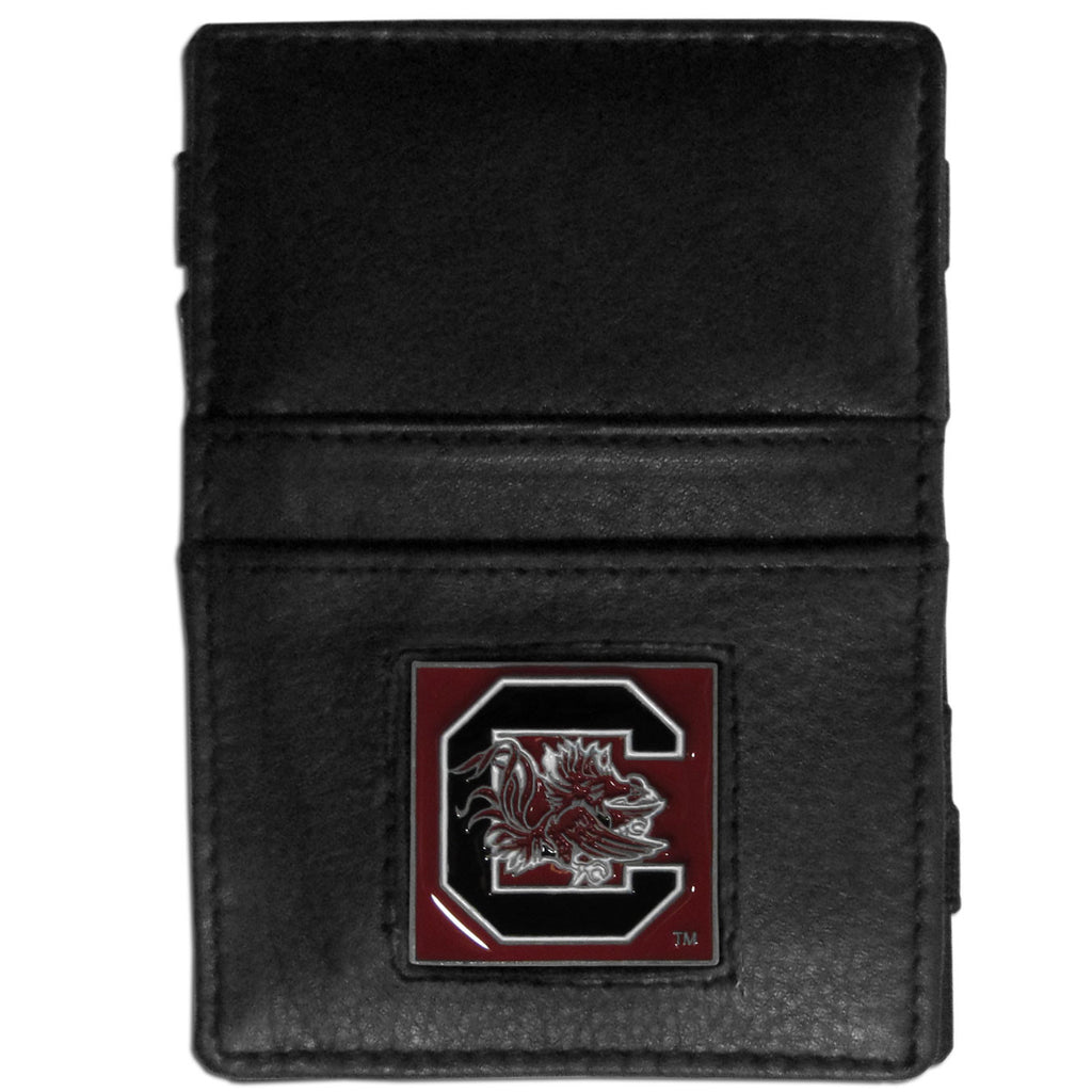 S. Carolina Gamecocks Leather Jacob's Ladder Wallet
