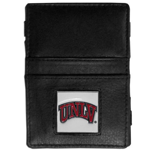UNLV Rebels Leather Jacob's Ladder Wallet