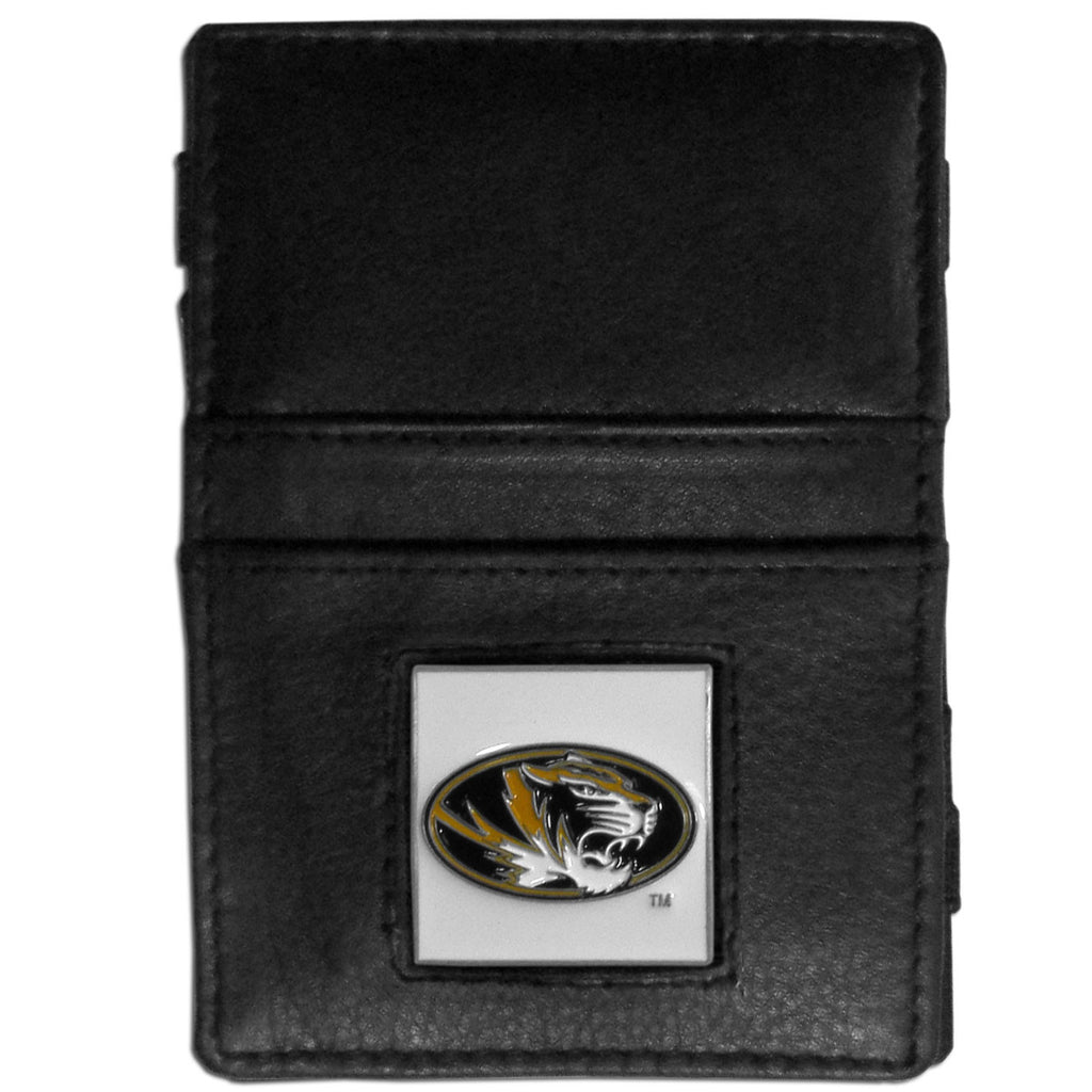 Missouri Tigers Leather Jacob's Ladder Wallet