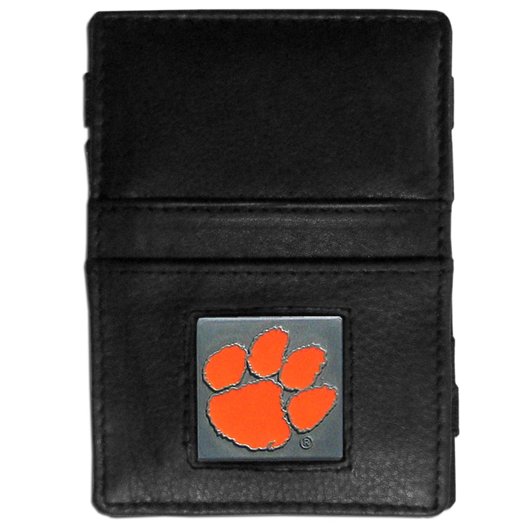 Clemson Tigers Leather Jacob's Ladder Wallet