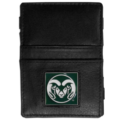 Colorado St. Rams Leather Jacob's Ladder Wallet