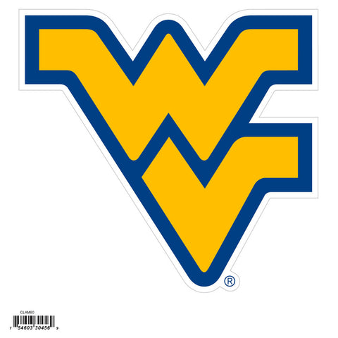 W. Virginia Mountaineers 8 inch Logo Magnets