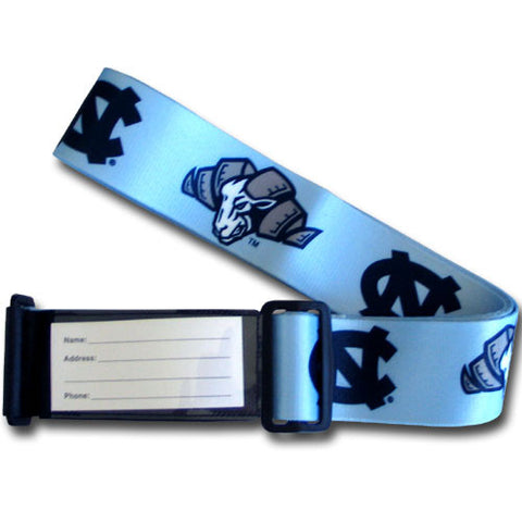 College Luggage Strap - N Carolina Tar Heels