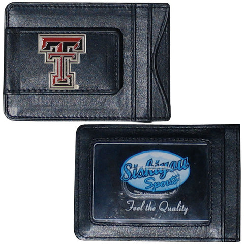Texas Tech Leather Cash & Cardholder