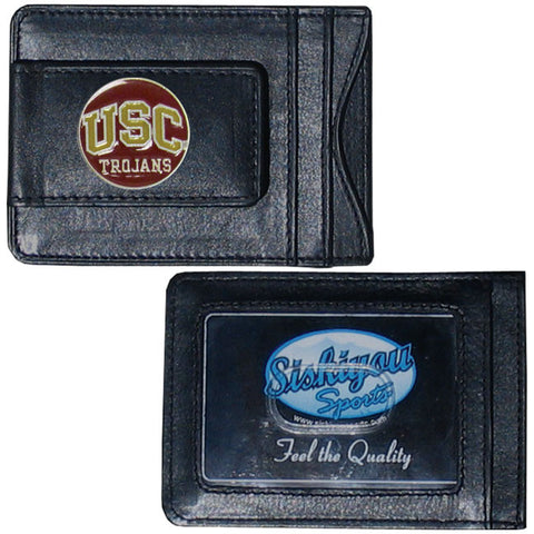 USC Leather Cash & Cardholder
