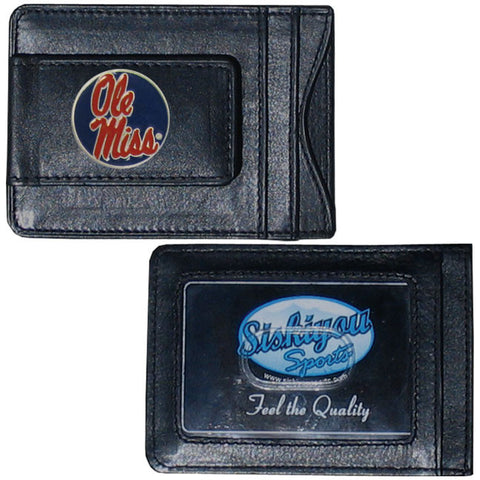 Mississippi Leather Cash & Cardholder