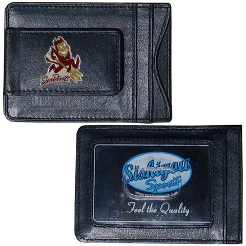 Arizona St. Leather Cash & Cardholder