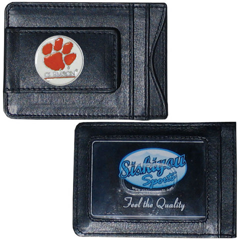 Clemson Leather Cash & Cardholder