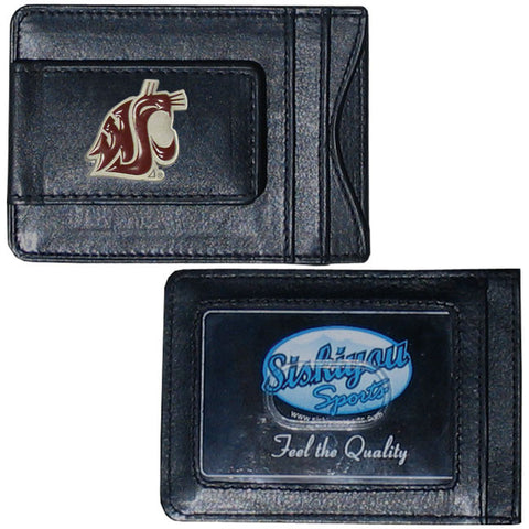 Washington St. Leather Cash & Cardholder