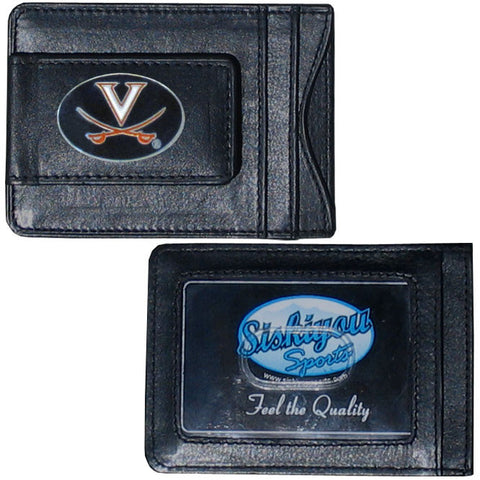 Virginia Cavaliers Leather Cash & Cardholder