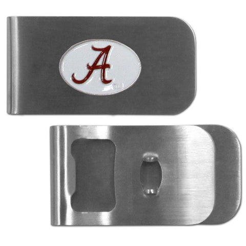Alabama Crimson Tide Bottle Opener Money Clip