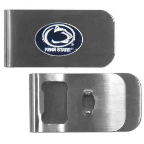 Penn St. Nittany Lions Bottle Opener Money Clip