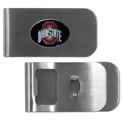 Ohio St. Buckeyes Bottle Opener Money Clip