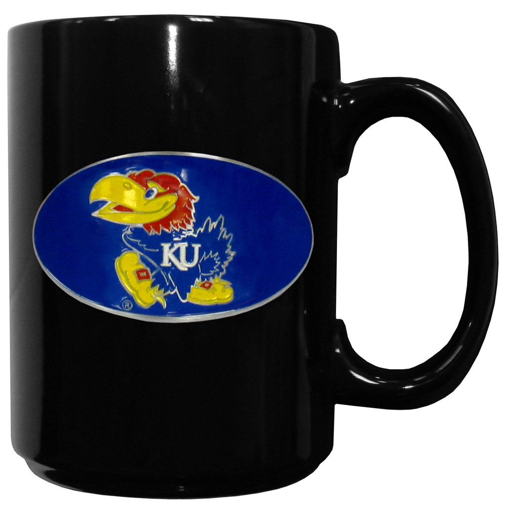 Kansas Jayhawks Ceramic Coffee Mug