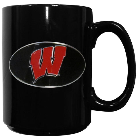 Wisconsin Badgers Ceramic Coffee Mug