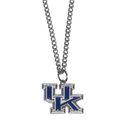 Kentucky Wildcats Chain Necklace with Small Charm