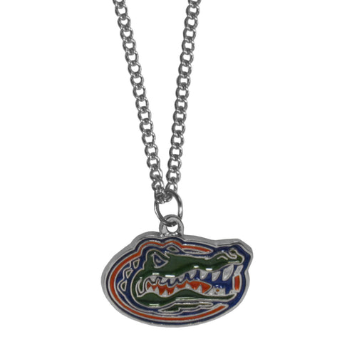Florida Gators Chain Necklace with Small Charm