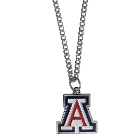 Arizona Wildcats Chain Necklace with Small Charm
