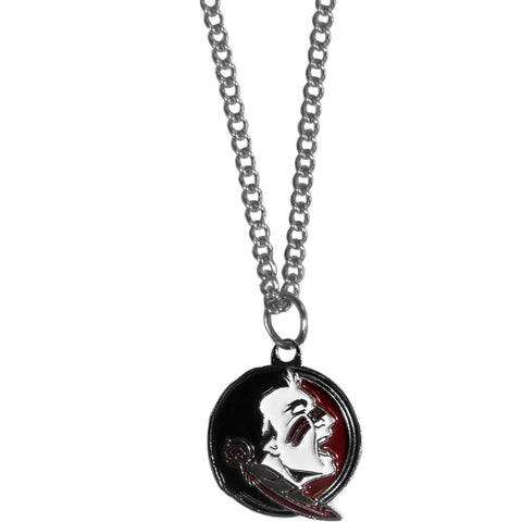 Florida St. Seminoles Chain Necklace with Small Charm