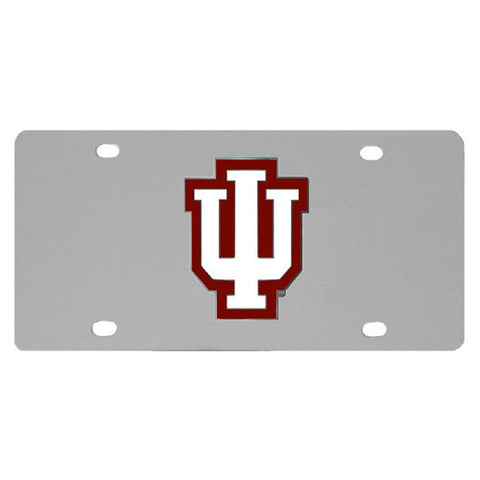 Indiana Hoosiers Steel License Plate