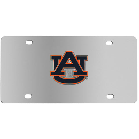 Auburn Tigers Steel License Plate