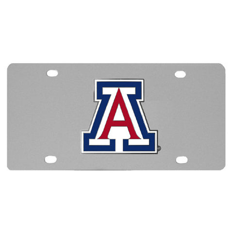 Arizona Wildcats Steel License Plate