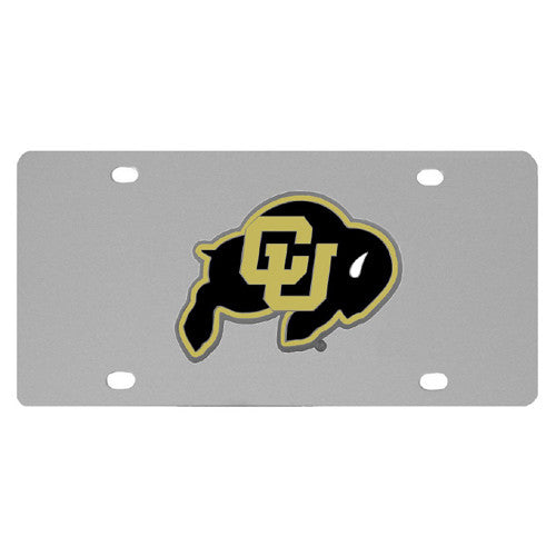 Colorado Buffaloes Steel License Plate