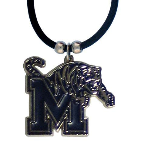 Memphis Rubber Cord Necklace