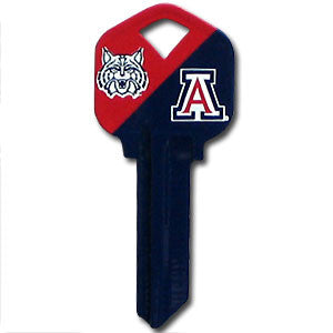 Kwikset Key - Arizona Wildcats