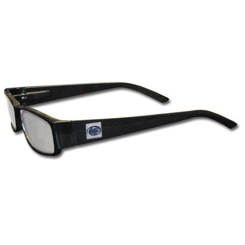 Penn St. Nittany Lions Black Reading Glasses +2.00