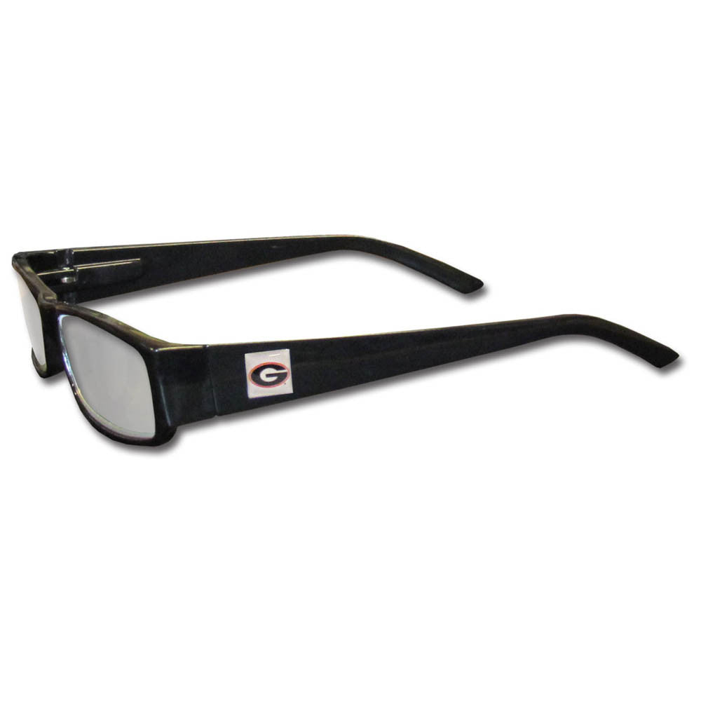 Georgia Bulldogs Black Reading Glasses +2.50