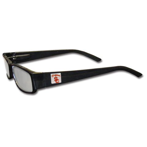 USC Trojans Black Reading Glasses +2.00