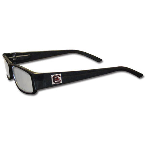 S. Carolina Gamecocks Black Reading Glasses +2.00
