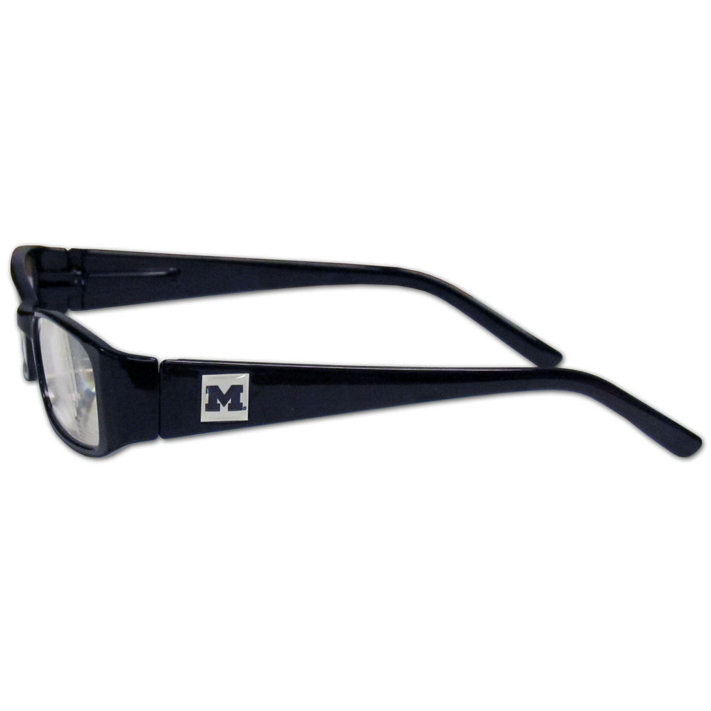 Michigan Wolverines Reading Glasses +2.50