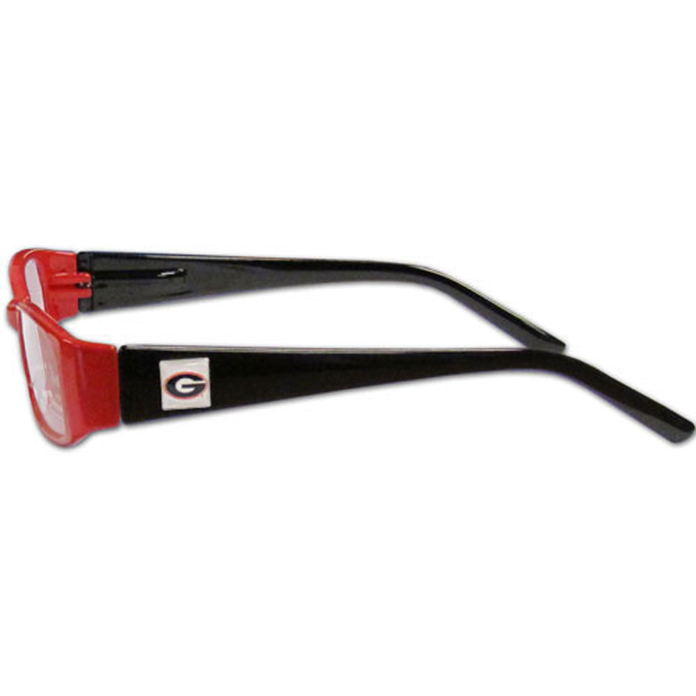 Georgia Bulldogs Reading Glasses +2.25