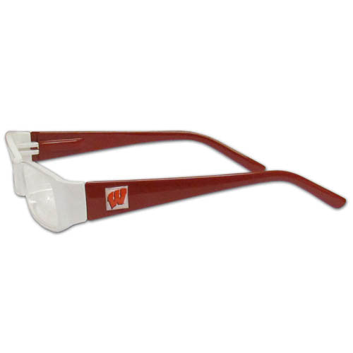 Wisconsin Badgers Reading Glasses +2.50