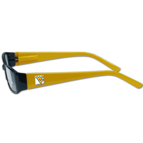 W. Virginia Mountaineers Reading Glasses +2.00