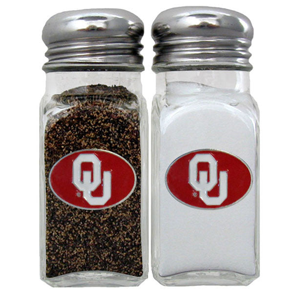 Oklahoma Sooners Salt & Pepper Shaker