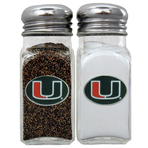 Miami Hurricanes Salt & Pepper Shaker