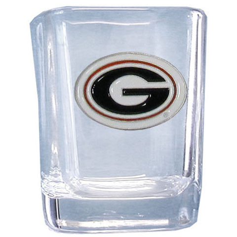 Georgia Bulldogs Square Shot Glass