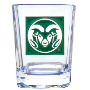College 2 oz Glass - Colorado State Rams