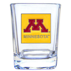 College 2 oz Glass - Minnesota