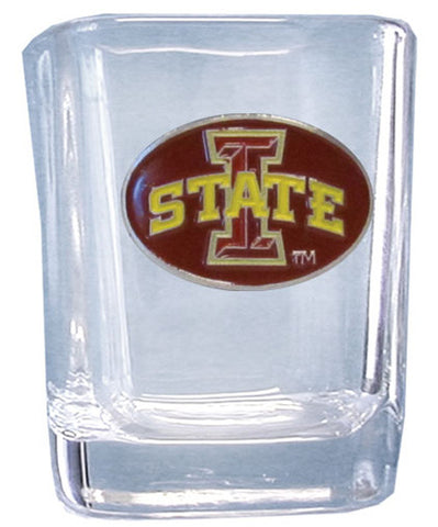 College 2 oz Glass - Iowa State Cyclones