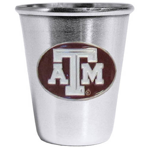 Texas A & M Aggies Steel Shot Glass
