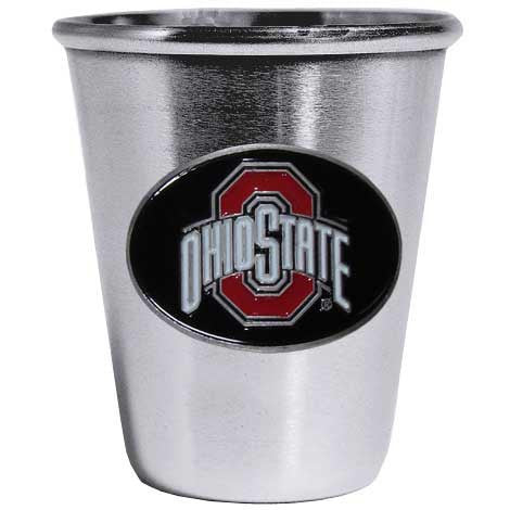 Ohio St. Buckeyes Steel Shot Glass
