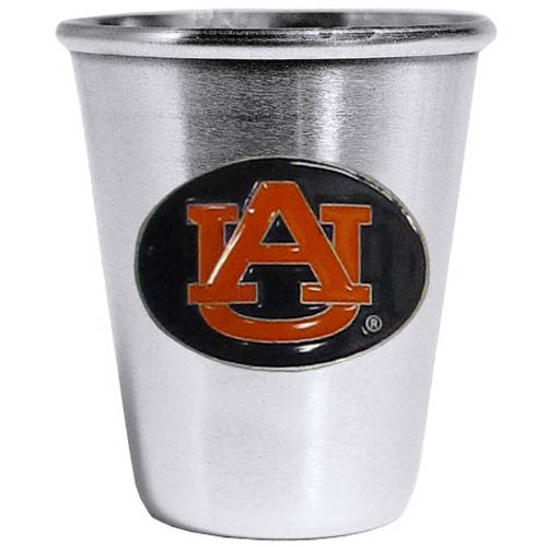 Auburn Tigers Steel Shot Glass