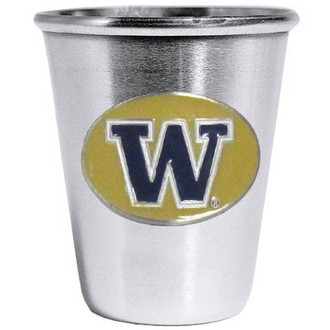 Washington Huskies Steel Shot Glass