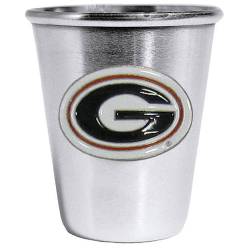 Georgia Bulldogs Steel Shot Glass